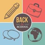πίσω σχολείο στην υποδοχή Στοκ φωτογραφία με δικαίωμα ελεύθερης χρήσης
