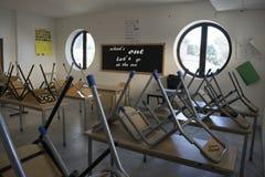 πίσω σχολείο στην υποδοχή Στοκ Εικόνα