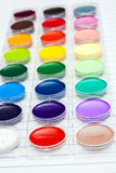 πίσω σχολείο ύδωρ χρωμάτων Στοκ Φωτογραφίες