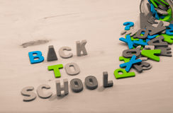 πίσω σχολείο Στοκ φωτογραφίες με δικαίωμα ελεύθερης χρήσης
