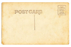 Πίσω της εκλεκτής ποιότητας κενής κάρτας Στοκ εικόνα με δικαίωμα ελεύθερης χρήσης
