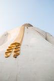 Πίσω της μεγάλης εικόνας του Βούδα Στοκ Φωτογραφία