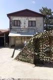 Πίσω του διάσημου σπιτιού που φιλοξενεί το μουσείο Tunel στο Σαράγεβο στοκ εικόνα με δικαίωμα ελεύθερης χρήσης