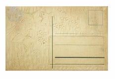 πίσω τρύγος καρτών Στοκ Εικόνα
