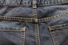πίσω τσέπη τζιν ανασκόπησης Στοκ εικόνες με δικαίωμα ελεύθερης χρήσης