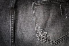 πίσω τσέπη τζιν Στοκ Εικόνες