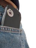 πίσω τσέπη pda φωτογραφικών μηχ Στοκ φωτογραφία με δικαίωμα ελεύθερης χρήσης