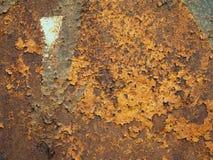 Πίσω υπόβαθρο του σκουριασμένου σιδήρου Στοκ Εικόνες
