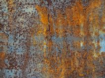 Πίσω υπόβαθρο του σκουριασμένου σιδήρου Στοκ φωτογραφία με δικαίωμα ελεύθερης χρήσης
