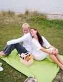 πίσω picnic ρομαντικό στοκ εικόνες