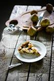 Πίτα αχλαδιών με ένα δικτυωτό πλέγμα Στοκ φωτογραφία με δικαίωμα ελεύθερης χρήσης