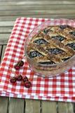 Πίτα βύσσινων Στοκ φωτογραφία με δικαίωμα ελεύθερης χρήσης