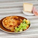 πίτα γευμάτων Στοκ Εικόνες