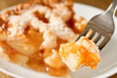 πίτα δαγκωμάτων μήλων αγρο&t Στοκ Εικόνες