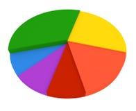 πίτα διαγραμμάτων διανυσματική απεικόνιση