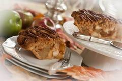 Πίτα εύγευστων μήλων Στοκ Εικόνα