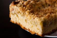 Πίτα ζύμης με το ρεβέντι Στοκ Φωτογραφίες