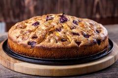 Πίτα και κεράσι της Apple Στοκ εικόνες με δικαίωμα ελεύθερης χρήσης