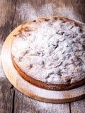 Πίτα και κεράσι της Apple Στοκ φωτογραφία με δικαίωμα ελεύθερης χρήσης