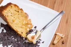 Πίτα και σοκολάτα της Apple Στοκ φωτογραφίες με δικαίωμα ελεύθερης χρήσης