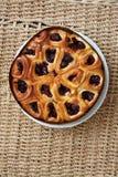 Πίτα 10 κερασιών αρτοποιείων Στοκ εικόνα με δικαίωμα ελεύθερης χρήσης