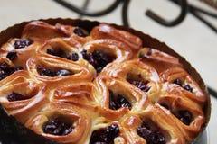 Πίτα 12 κερασιών αρτοποιείων Στοκ Φωτογραφίες