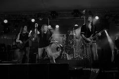 Πίτα κερασιών στη συναυλία Στοκ εικόνα με δικαίωμα ελεύθερης χρήσης