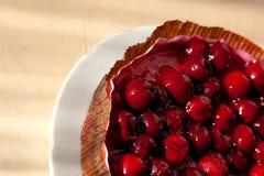 πίτα κερασιών Στοκ φωτογραφίες με δικαίωμα ελεύθερης χρήσης