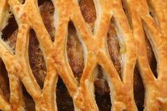 πίτα κρέατος λεπτομέρεια&s Στοκ φωτογραφίες με δικαίωμα ελεύθερης χρήσης