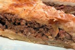 πίτα κρέατος Στοκ εικόνες με δικαίωμα ελεύθερης χρήσης