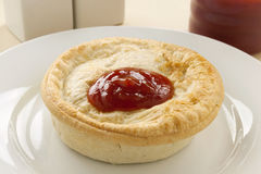 Πίτα κρέατος Aussie στοκ φωτογραφίες με δικαίωμα ελεύθερης χρήσης