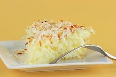 πίτα κρέμας καρύδων Στοκ φωτογραφίες με δικαίωμα ελεύθερης χρήσης