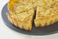 πίτα κρεμμυδιών Στοκ φωτογραφία με δικαίωμα ελεύθερης χρήσης