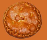 Πίτα λάχανων σε ένα απομονωμένο υπόβαθρο στοκ φωτογραφίες με δικαίωμα ελεύθερης χρήσης