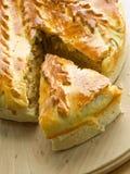 πίτα λάχανων Στοκ Εικόνες