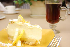 πίτα λεμονιών στοκ εικόνα με δικαίωμα ελεύθερης χρήσης