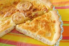 Πίτα Λωρραίνη στοκ εικόνα