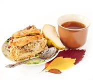 Πίτα μήλων και αχλαδιών Στοκ εικόνα με δικαίωμα ελεύθερης χρήσης