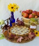 πίτα μήλων Στοκ Εικόνες