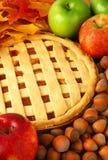 πίτα μήλων Στοκ φωτογραφίες με δικαίωμα ελεύθερης χρήσης