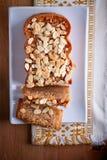 Πίτα μήλων με την κανέλα Στοκ Φωτογραφίες