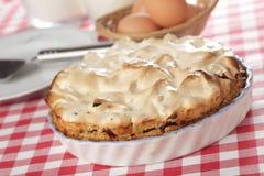 πίτα μαρέγκας Στοκ φωτογραφίες με δικαίωμα ελεύθερης χρήσης