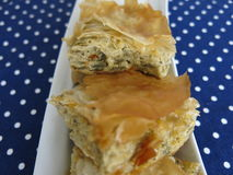 Πίτα μελιτζάνας Στοκ εικόνα με δικαίωμα ελεύθερης χρήσης