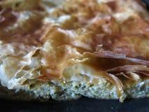 Πίτα μελιτζάνας Στοκ εικόνες με δικαίωμα ελεύθερης χρήσης