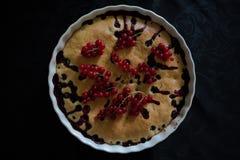 Πίτα μούρων Στοκ Εικόνα