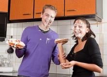 πίτα πάλης Στοκ Εικόνες