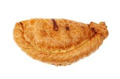 Πίτα που απομονώνεται Cornish Στοκ Εικόνα