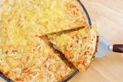 Πίτα πράσων Στοκ εικόνες με δικαίωμα ελεύθερης χρήσης