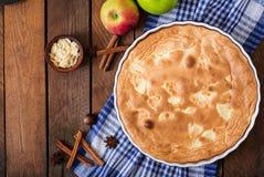 Πίτα Σαρλόττα της Apple Στοκ εικόνα με δικαίωμα ελεύθερης χρήσης