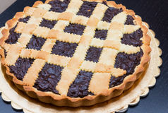 Πίτα σοκολάτας - bischeri coi Torta, Τοσκάνη Στοκ Εικόνα